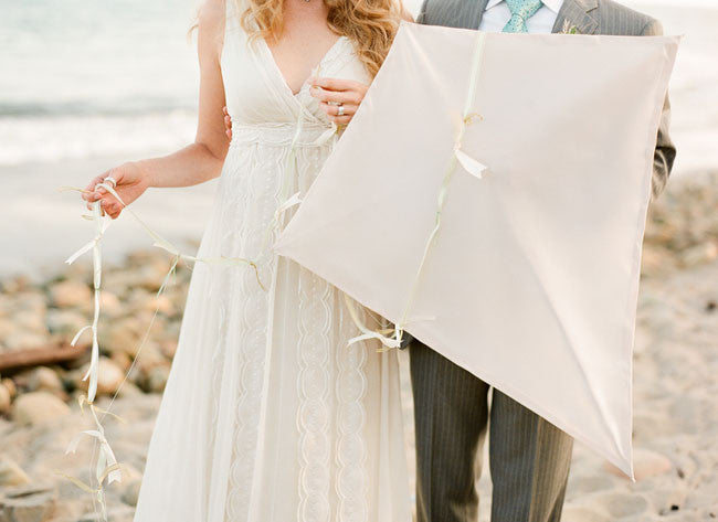 Bohemian Beach Wedding Styling