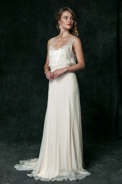 CH6225 Art Deco Inspired Wedding Dress