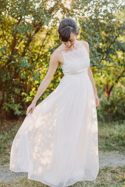 AH6200 Whimsical Wedding Dress