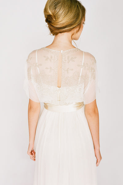 DC6500 Edwardian Inspired Wedding Dress