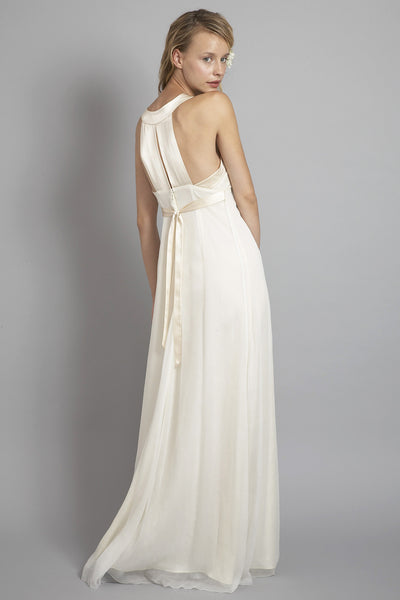 HB6639 Racer Back Modern Wedding Dress – Saja Wedding
