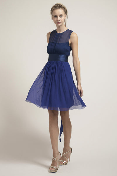 M- HB6971 Short Ethereal Bridesmaid Dress