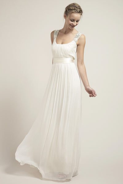 OY6777 Simply Decadent Wedding Dress