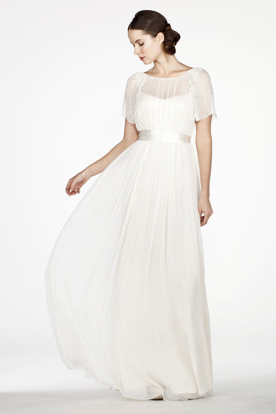 RC6257 Ethereal Sleeved Wedding Dress