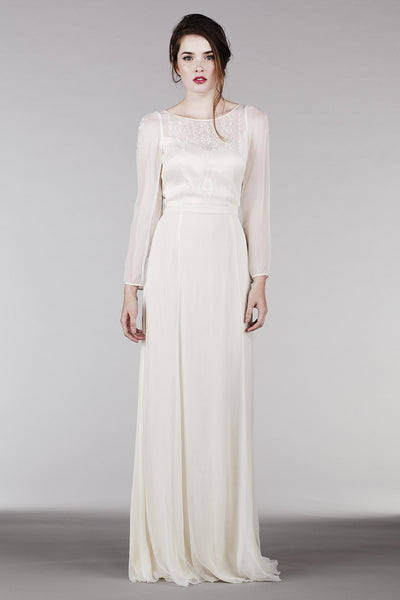 Long Sleeved Wedding Dresses.Rm6325 Long Sleeve Bohemian Wedding Dress