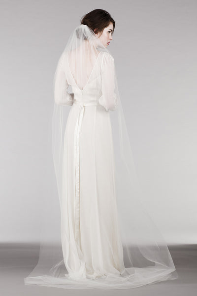 RM6325 Long Sleeve Bohemian Wedding Dress
