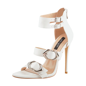 Ankle Strap Buckle Band Stilettos High Heel Sandals