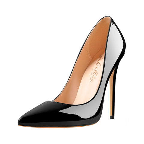 8cm 10cm 12 cm Pointed Toe Slip On High Heel Pumps
