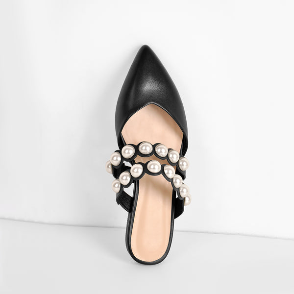 Black Pearl Mule shoes