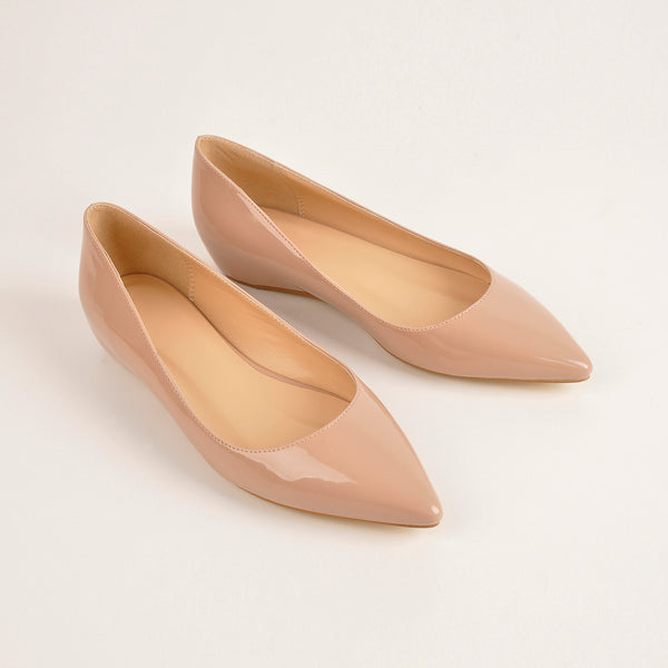 Baby Pink Daily Flat pumps