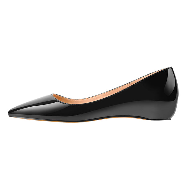 Black Daily Flat pumps