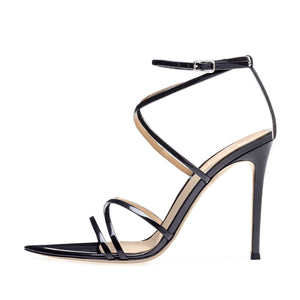 Gladiator Ankle Strap Pointed High Heels Sandals