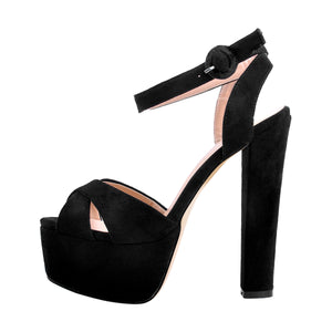 Platform Chunky High Heel Sandals