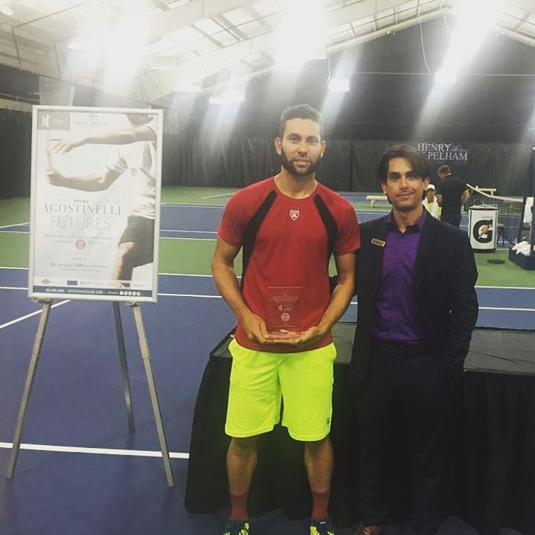Adam El Mihdawy wins the Bruno Agostinelli Futures