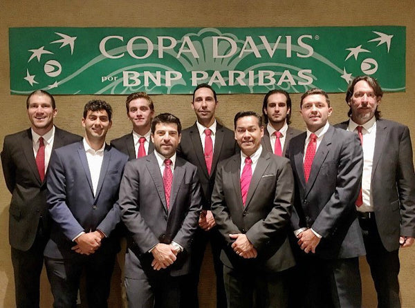 Loriet Player Hans Hach Verdugo Represents Mexico in Davis Cup