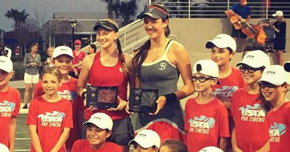 Maddie Kobelt & Sophie Chang Win Doubles at USTA National Campus $25K