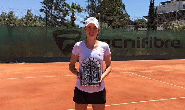 Congratulations Nika Kukharchuk, Finalist at the Hammamet Open