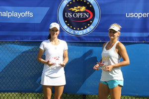Loriet Player Nika Kukharchuk & Sasha Perper win US Open Playoffs Middle States