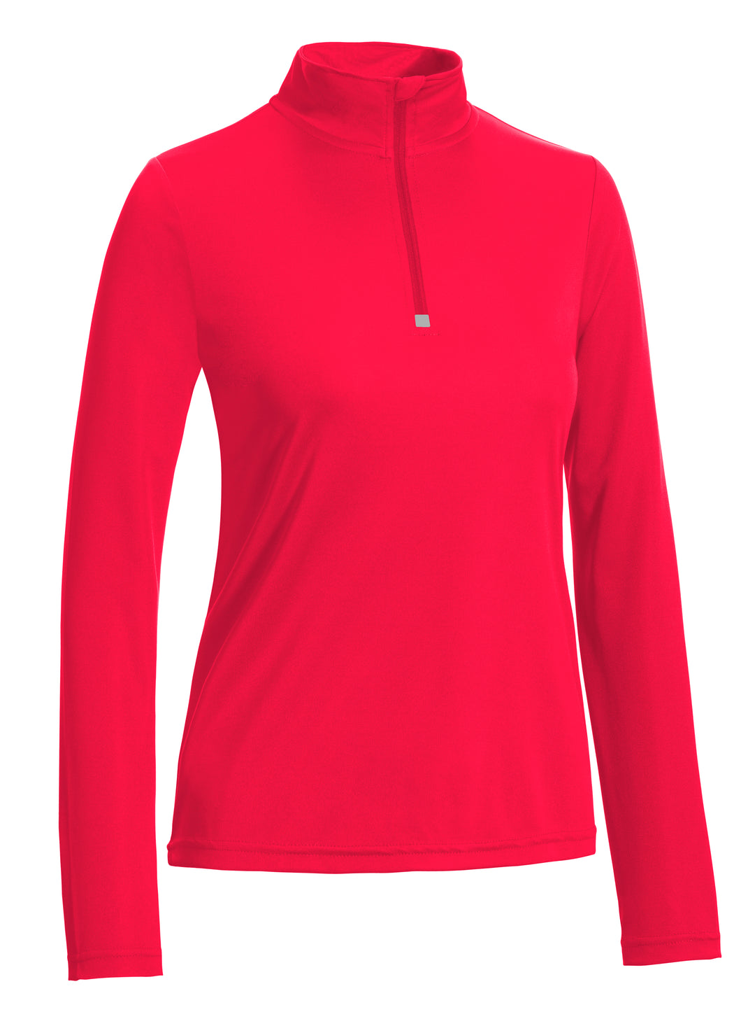 Ladies Quarter-zip Performance Pullover - Loriet Activewear