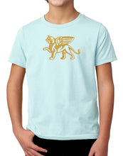 Load image into Gallery viewer, Boys Comfort Gold Lion Tee - Loriet Activewear