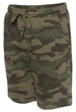 Load image into Gallery viewer, Camo Comfort Shorts - Green