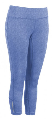 Active Fit Performance Capris - Blue - Loriet Activewear