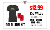 Gold Lion Kit - Women - Loriet Activewear