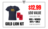 Gold Lion Kit - Girls - Loriet Activewear