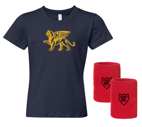 Gold Lion Kit Girls - Loriet Activewear