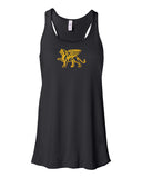 Flowy Gold Lion Tank Top - Loriet Activewear