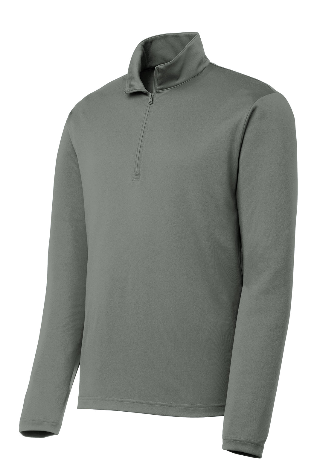 Quarter-zip Comfort Performance Pullover - Grey