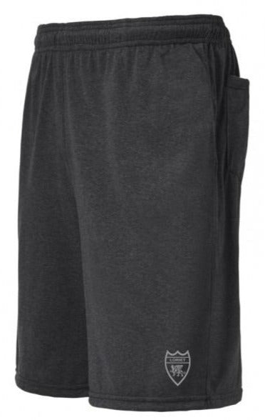 Heather Pro Performance Shorts - Dark Grey - Loriet Activewear