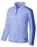 Kids Lazer Quarter-Zip - Loriet Activewear