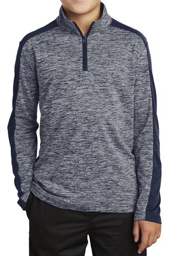 Kids Laser Quarter-Zip - Loriet Activewear