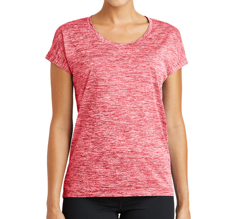 Ladies Laser Performance Top - Loriet Activewear