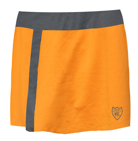 London Performance Skort - Orange/Grey - Loriet Activewear