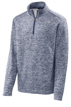 Load image into Gallery viewer, Quarter-Zip Performance Fleece Pullover - Navy