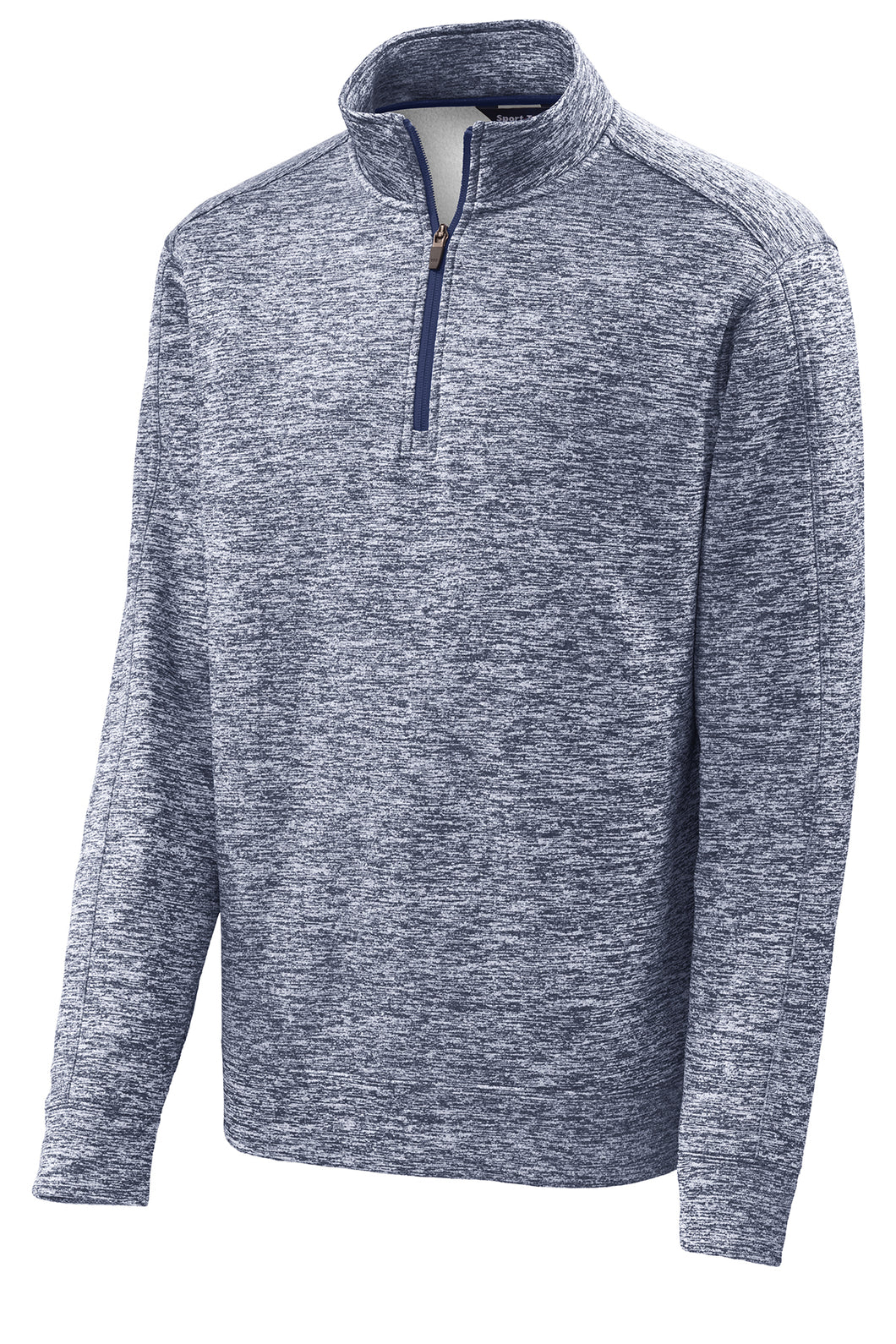Quarter-Zip Performance Fleece Pullover - Navy