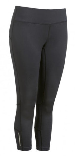 Active Fit Performance Capris - Black - Loriet Activewear