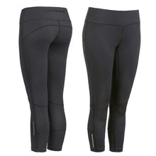 Load image into Gallery viewer, Active Fit Performance Capris - Black - Loriet Activewear