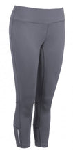 Load image into Gallery viewer, Active Fit Performance Capris - Grey - Loriet Activewear