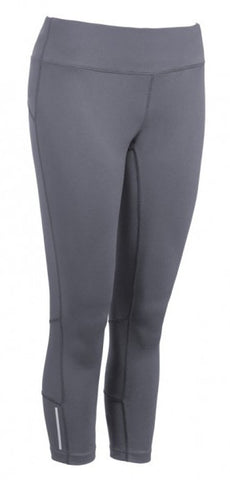 Active Fit Performance Capris - Grey - Loriet Activewear