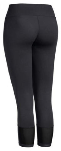 Flow Performance Capri Leggings - Black - Loriet Activewear