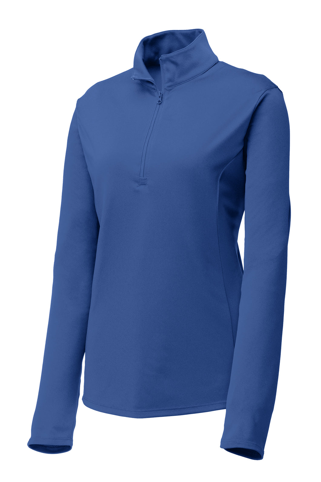 Ladies Quarter-zip Comfort Performance Pullover - Royal