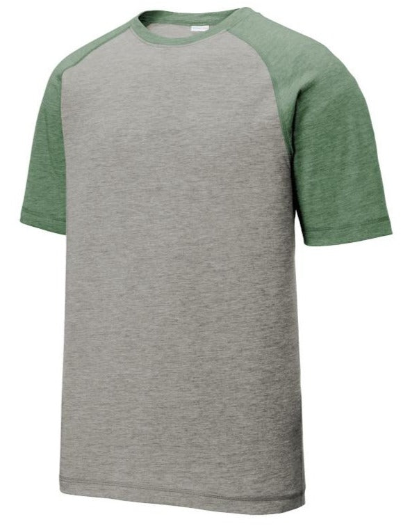 Fusion Performance Top - Green/Grey