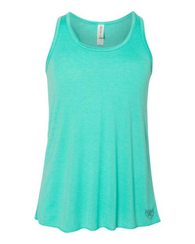 Girls Active Flow Racerback Tank Top - Loriet Activewear