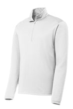 Load image into Gallery viewer, Quarter-zip Comfort Performance Pullover - White