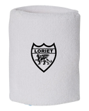 Pro Team Shield Logo Wristbands Pair - Loriet Activewear