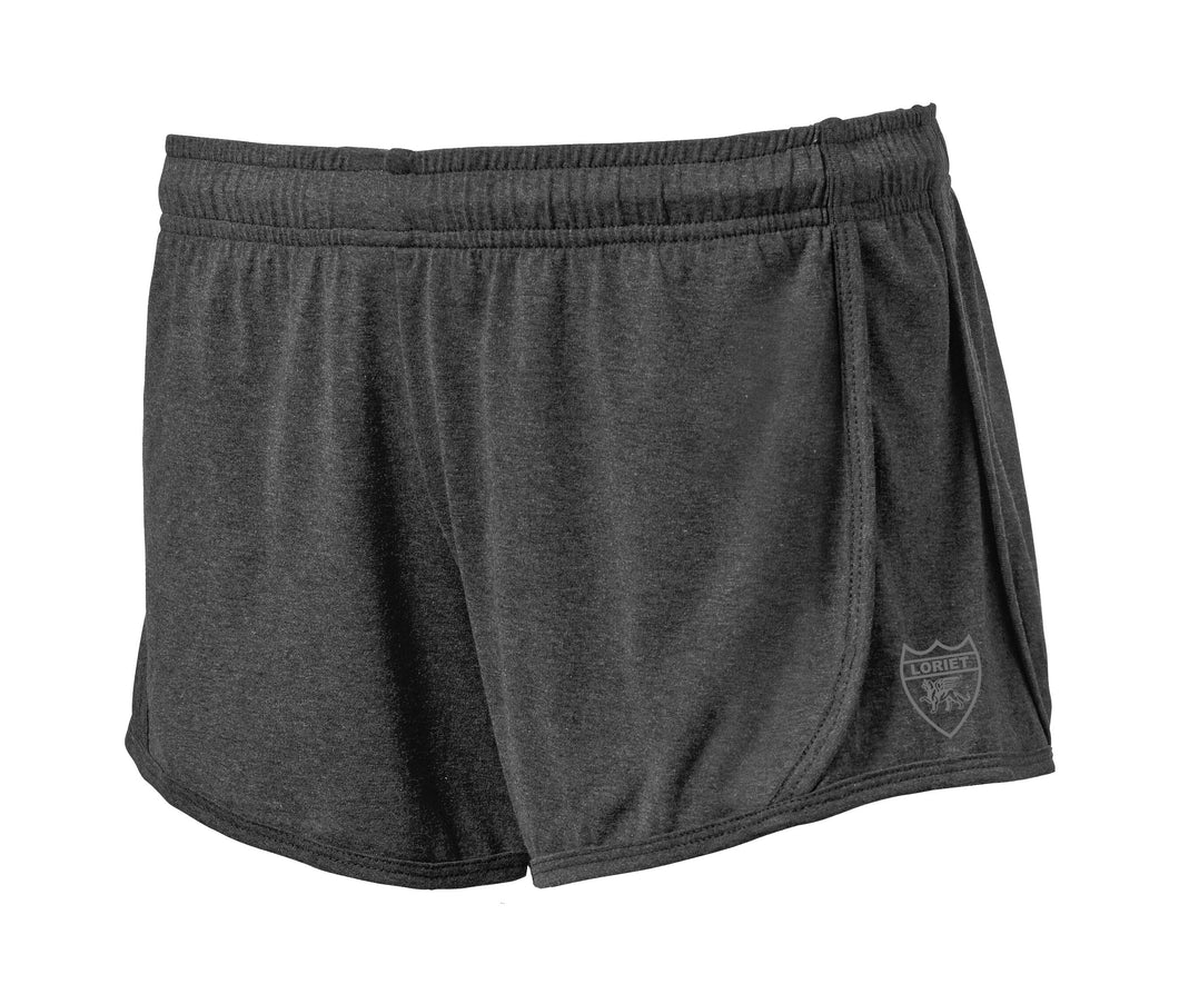 Active Fit Heather Performance Shorts - Grey - Loriet Activewear