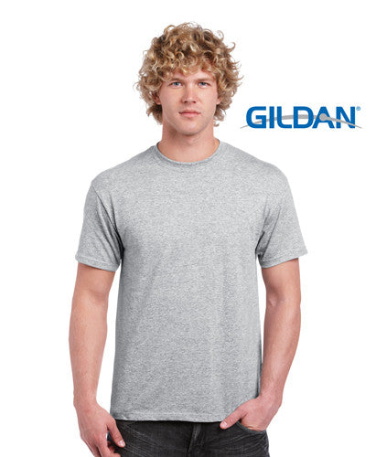 Gildan Heavy Cotton Adult T-Shirt Sport Grey